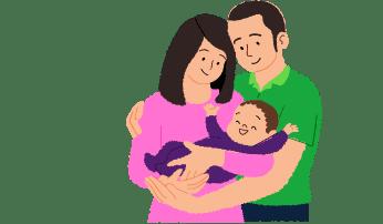 赤ちゃんとママ・パパを応援